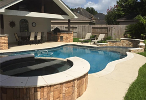 Patio Covers and Custom Pools in Katy Texas