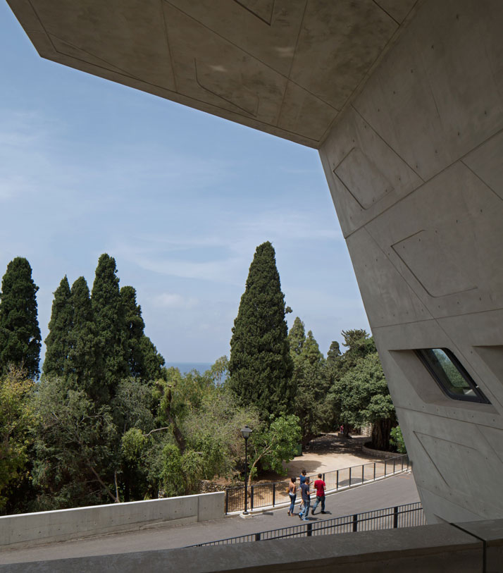 32-zaha-hadid-Issam-Fares-Institute-for-Public-Policy-and-International-Affairs-at-the-American-University-of-Beirut