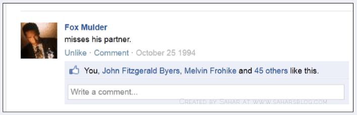 Sahar's Blog The X-Files Facebook Project s02e06 Ascension