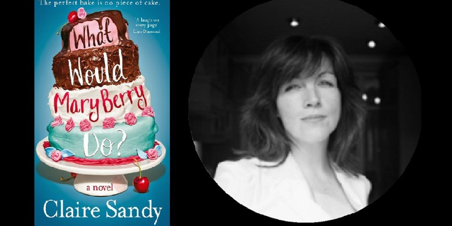 Sahar's Blog Author Spotlight Bernie Strachan Claire Sandy