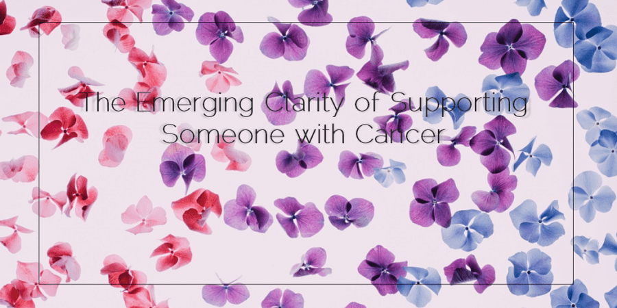 Sahar's Blog 2015 12 19 The Emerging Clarity of Supporting Someone with Cancer
