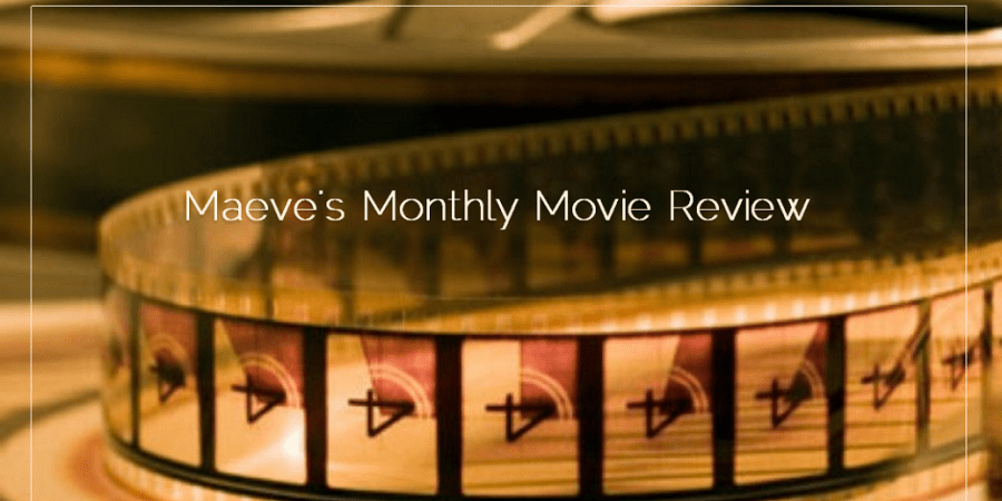 Maeve's Monthly Review on Sahar's Blog Header