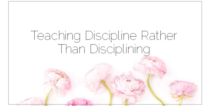 Sahar's Blog 2017 03 03 Disciplining versus Teaching Discipline Retake of post dated 2008 09 17