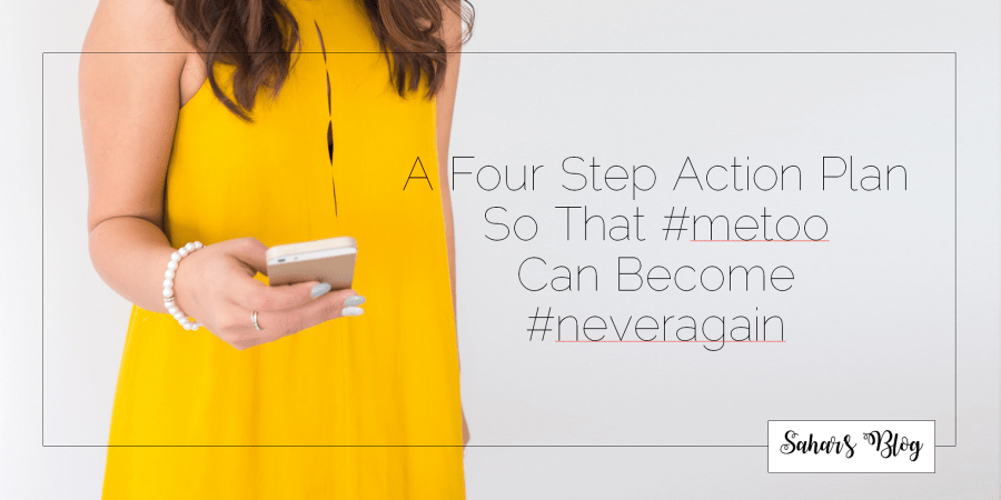 2018-05-01 Tuesday Community Building A Four Step Action Plan So That #metoo Can Become #neveragain