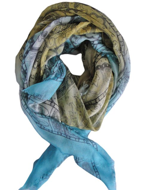 foulard modal soie