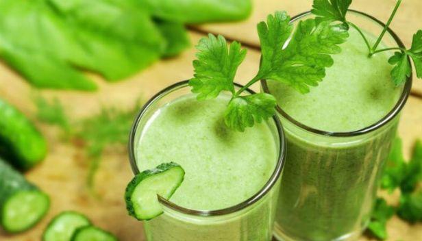 الشراب الأخضر المخفوق