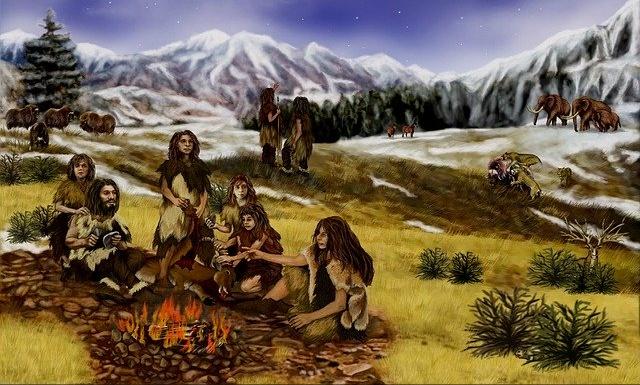आदिमानव का जीवन