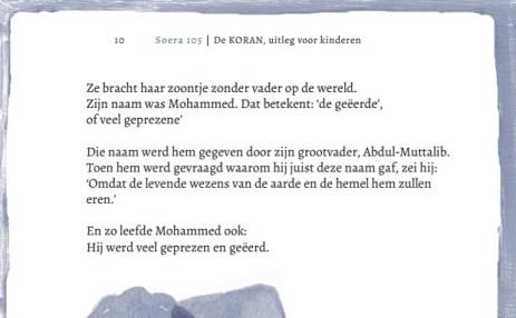 De Koran uitleg voor kinderen Abdel Wahid van Bommel 2