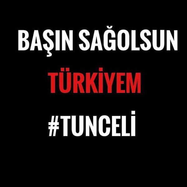 Başın sağolsun TÜRKİYEM #Türkiye #Tunceli #egm #tsk #hsykAziz şehitlerimize Allah'tan rahmet diliyorum
