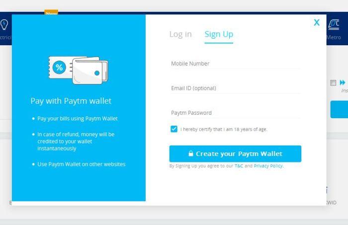 paypal signup pe click kare