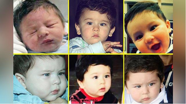 आज है सैफ और करीना के बेटे का पहला जन्मदिन, देखें तैमूर की कुछ प्यारी तस्वीरें