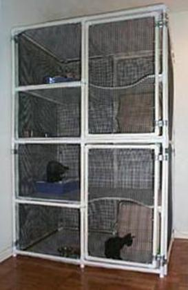 Sahja Siamese And Oriental Cage Plans PVC Pipe Cages
