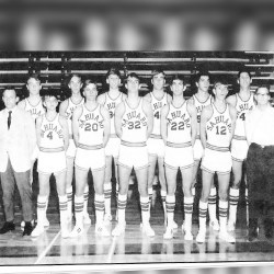 1970 Men's Basketball Team and Coaches