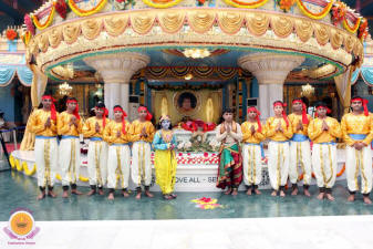 Sri Krishna Janmashtami Celebrations at Prasanthi Nilayam Updates