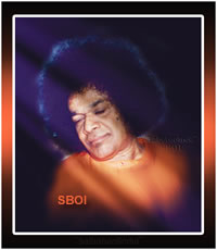 RARE PHOTO OF SRI SATHYA SAI BABA LARGE SIZE POSTER