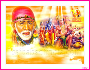 Rama Navami wallpaper- Shirdi Sai  Baba