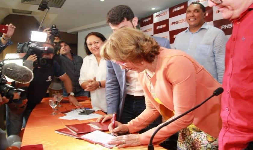 Zenaide Maia é deputada federal e pré-candidata ao Senado pelo PHS