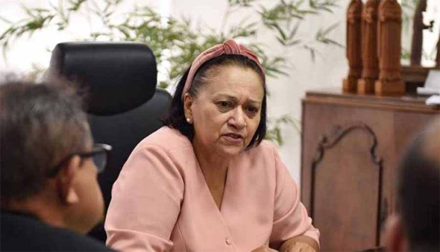 Governadora anuncia pagamento de atrasados no início de 2021