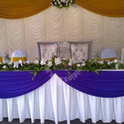 Banquet Chair Covers Malaysia Ergonomic Without Wheels Backdrop Of Canopy For Sale | The Cheapest Price High Quality Backdrops In Saidina ...