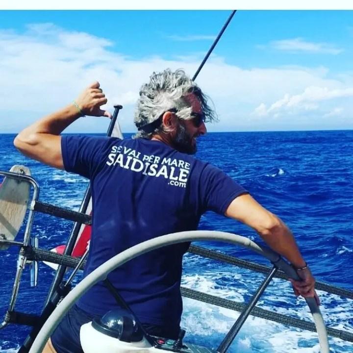Saidisale. Il tuo vecchio è il mare. La barca a vela fa bene allo spirito.