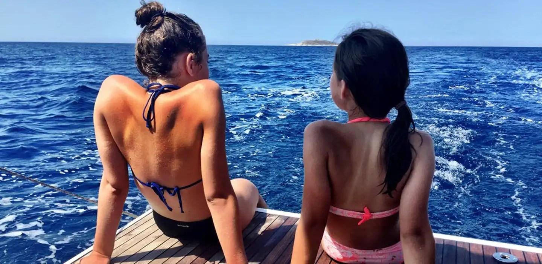 Barca vela prima volta