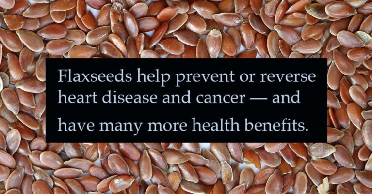 Could there be health benefits to GM Flax?