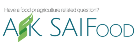 Have a agriculture or food question? Ask Saifood