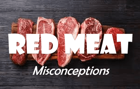 red meat and their misconceptions