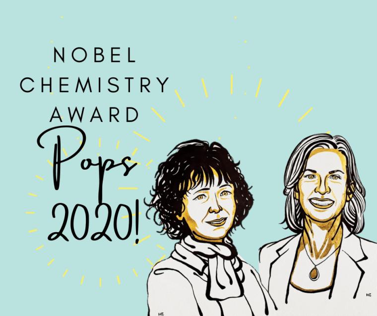 Nobel chemistry award of CRISPR pops 2020