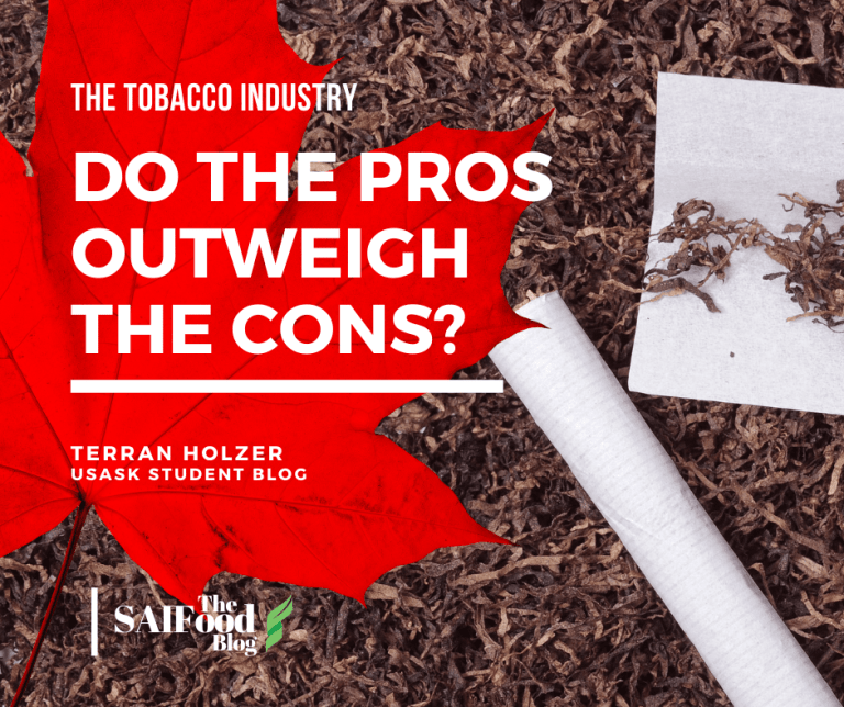 The Tobacco Industry: do the pros outweigh the cons?