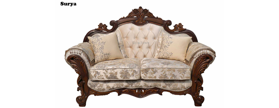 colonial sofa sets india how to clean a fabric with removable covers carved manufacturers in delhi set living room pearl