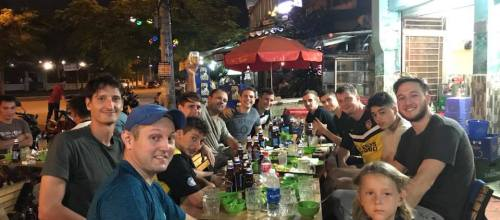 Team and Beers together!