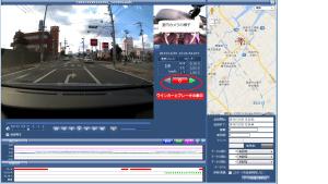 ドライブレコーダ画面sp