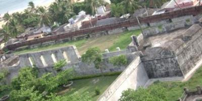 Kerala Fort   Anchu Thengu Fort