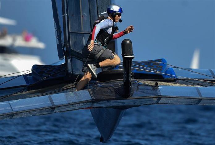 USA SailGP Team helmed by Jimmy Spithill on Race Day 2. France SailGP - photo © Ricardo Pinto for SailGP