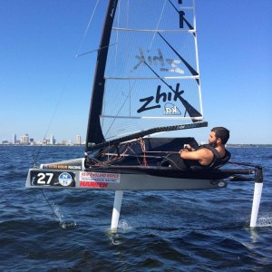 Profiles in Pro Sailing: Victor Diaz de Leon