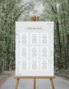 Pale greenery foliage seating chart australia sydney melbourne perth adelaide brisbane canberra wedding plan green also plans our range of charts rh sailandswan