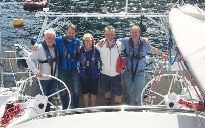 Successful alumni of our RYA courses