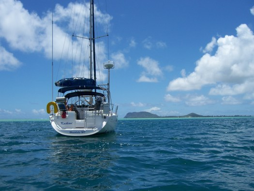 Sailing In Oahu