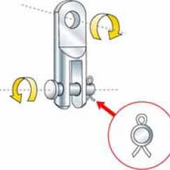 Standing Rigging Diagram Wire For Trailer Lights Sailboat Part 2 The Toggle And Clevis Pin