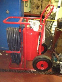 Portable Carbon Dioxide Fire Ext.