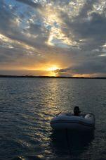 Dinghy Sunset
