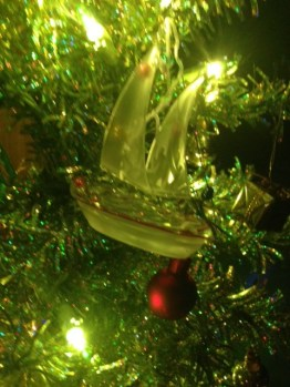 Sailboat Ornament!