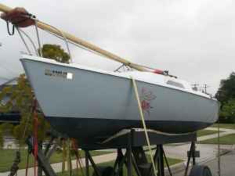 1974 Santana 22 Sailboat For Sale In California