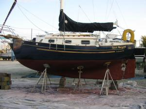 1991 Pacific Seacraft Flicka sailboat for sale in Texas