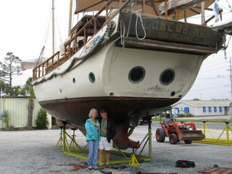 1950 Custom Chinese Junk Sailboat For Sale In Mississippi