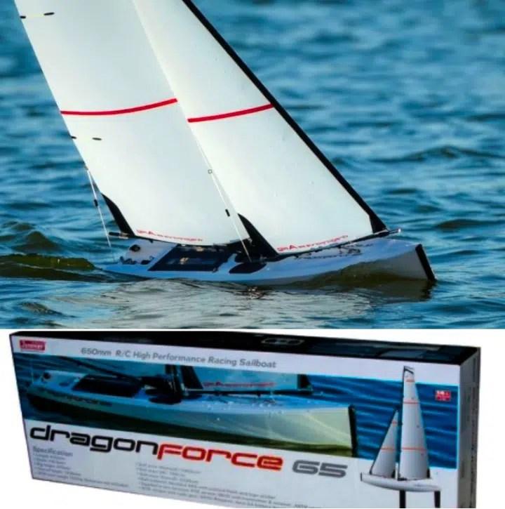 DragonForce 65 V6 2018 RC Sailboat / RC Yacht
