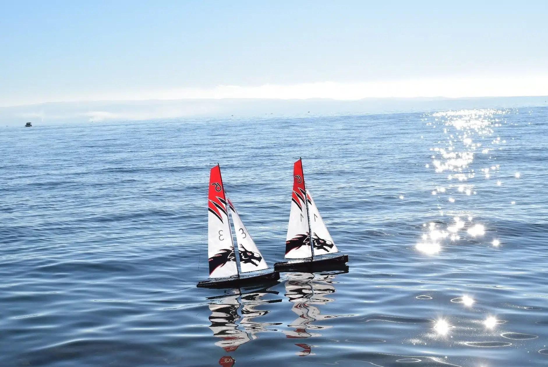 DragonForce 65 V5 Black RC Sailboat / RC Yacht