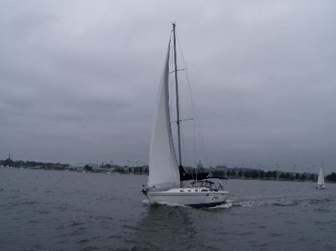 Chesapeake Catalina Yacht Club Sailing In The