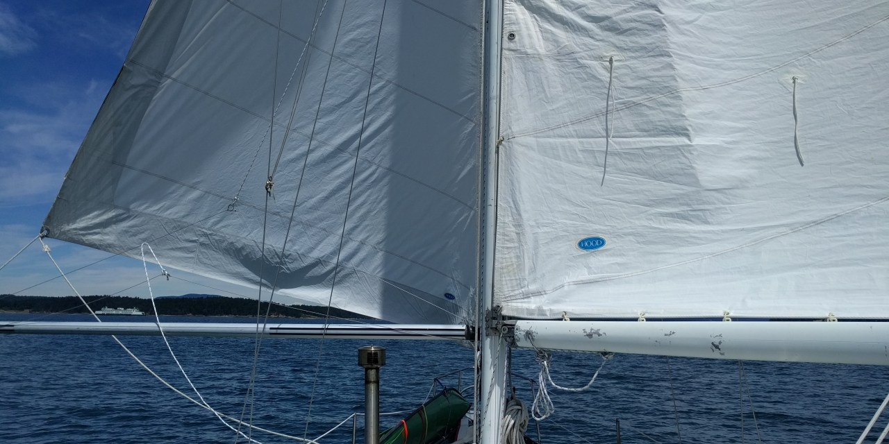 Fixing engine coolant pump and an amazing days sailing